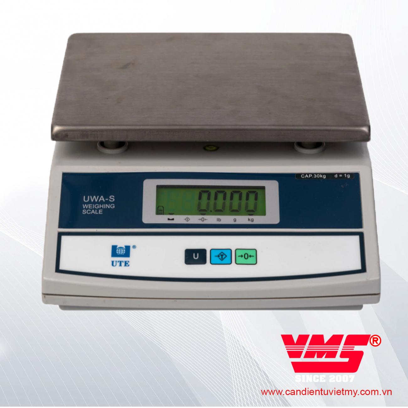 CÂN ĐIỆN TỬ UWA-S 30kg slide 0