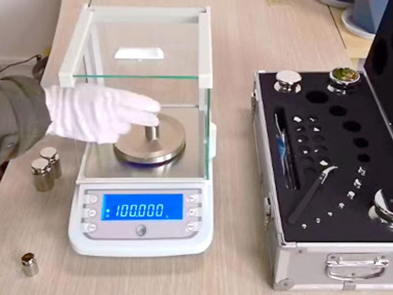 Kiểm định cân điện tử