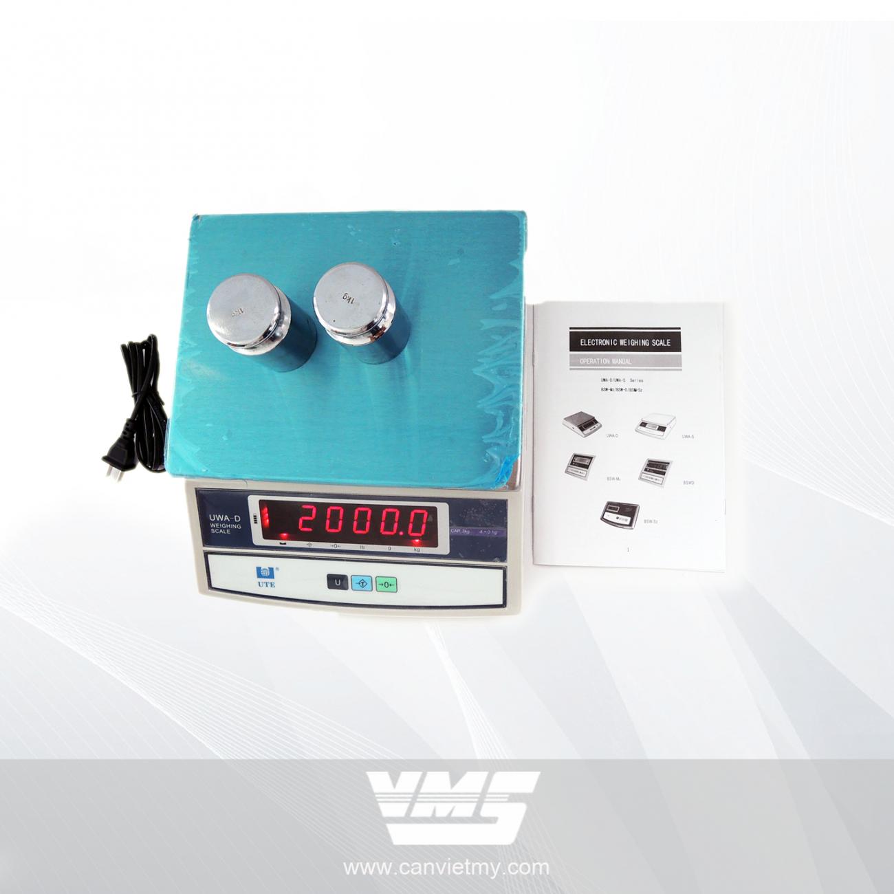 CÂN ĐIỆN TỬ UWA-D 15KG slide 0