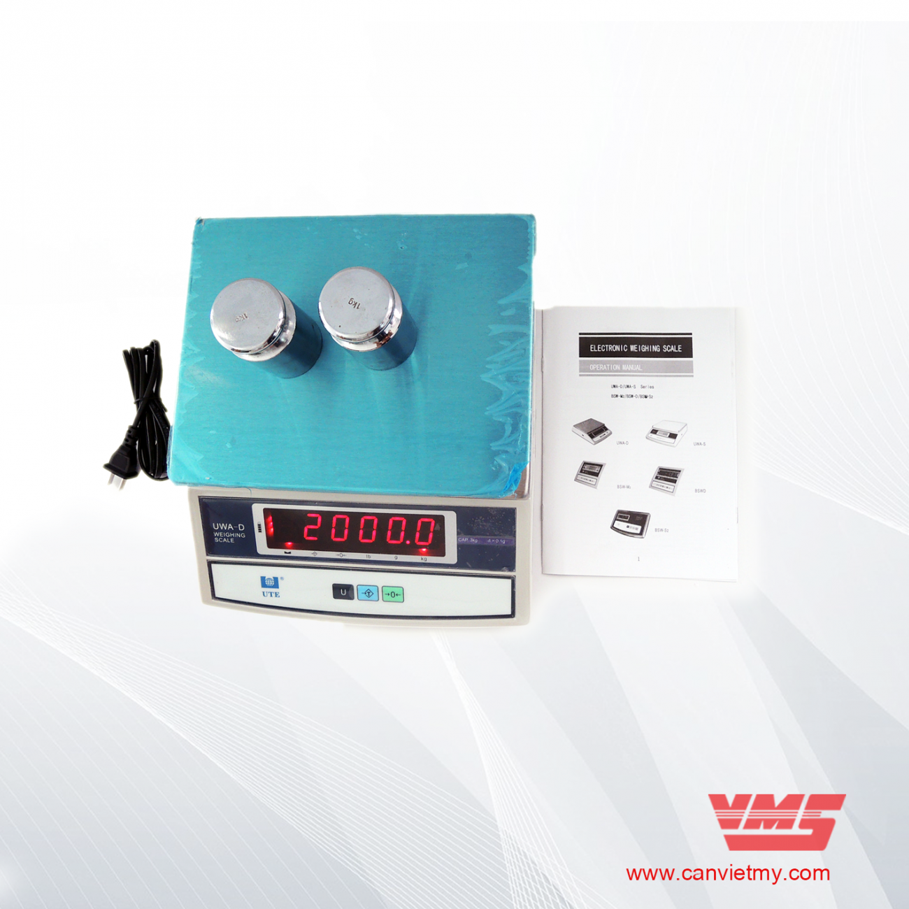 CÂN ĐIỆN TỬ UWA-D 6kg slide 0