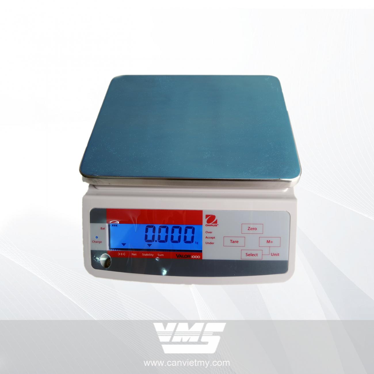CÂN ĐIỆN TỬ VALOR 1000 - 15KG slide 0