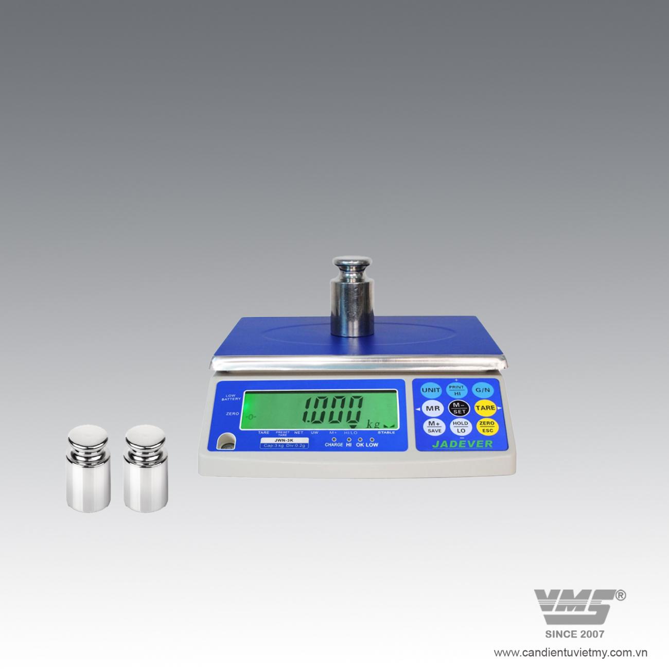 CÂN ĐIỆN TỬ JWN 6kg slide 0